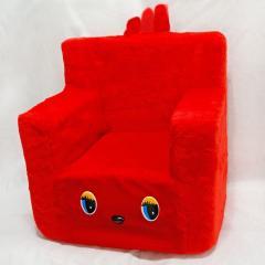 Детский Стульчик Zolushka 43см красный (217-2)