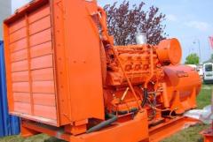 CATERPILLAR 3508 TA 960 kVA diesel generator,