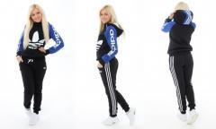 Женский спортивный Adidas (теплый) р. 48-54