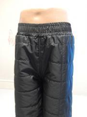Копія Детские демисезнные штаны на флисе на рост