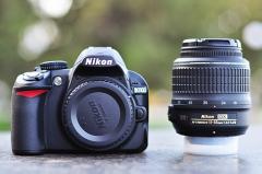 Цифровой зеркальный фотоаппарат Nikon D3100 18-55