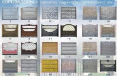 Заборы бетонные от производителя Элитный Забор,