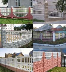 Заборы бетонные для дачи Киев Киевская область