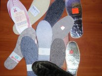 Insoles woolen shoe wholesale across Ukraine and