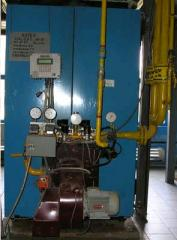 Torches gas block with PGS-BM automatic equipment with a power of 0,34-3,5 MW