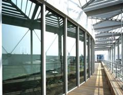 Low-emissivity glass, Double-glazed windows energy