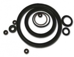 Rings rubber sealing round section, GOST