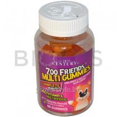 Мультивитамины для детей (Zoo Friends Multi