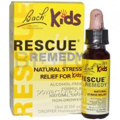Помощь от стресса детям, Rescue Remedy, Bach, 10 мл.