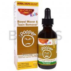 Очищение кишечника и вывод токсинов, Bowel Mover &amp- Toxin Removal, Bioray Inc., 60 мл