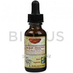 Очищение кишечника и вывод токсинов, Natural-Organic-Detox, Bioray Inc., 30 мл