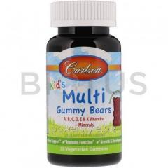 Мультивитамины для детей, Kid's Multi,