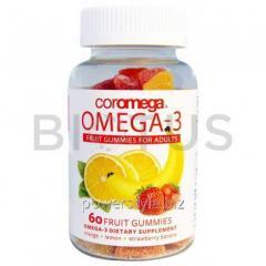 Омега-3 для взрослых и детей 4+ (фруктовый вкус),