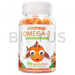 Омега-3 для детей (фруктовый вкус), Omega-3,