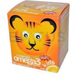 Омега-3 для детей со вкусом апельсина, Omega3,
