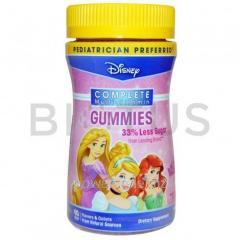 Витамины для детей, Multi-Vitamin Gummies, Disney, принцессы, 60 пастилок