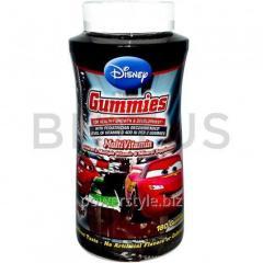 Витамины для детей, Multi-Vitamin Gummies, Disney, Тачки, 180 пастилок