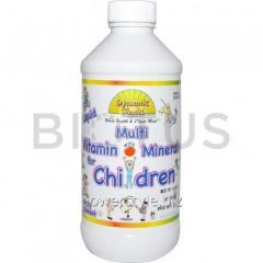 Витамины и минералы детям, Multi Vitamin with