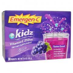 Витамин С для детей, Emergen-C Kids, Emergen-C, 30