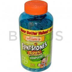 Мультивитамины для детей (Sour Gummies Complete,