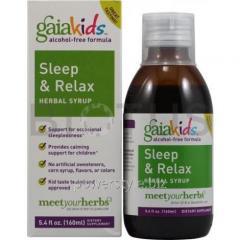 Сироп для сна детям (Relax Herbal Syrup), Gaia