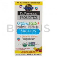 Пробиотики + витамины для детей, Probiotics +