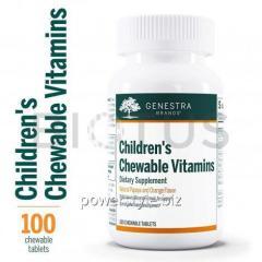 Витамины и минералы для детей, Children's Chewable