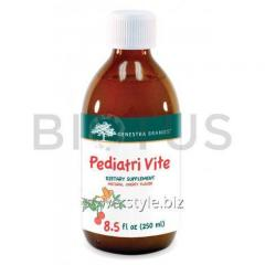 Мультивитамины для детей, Pediatri Vite, Genestra Brands, вкус вишни, 250 мл