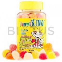 Витамин Д (жевательный), Vitamin D, Gummi King, 60 конфет