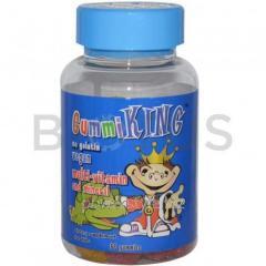 Витамины для детей (Multi-Vitamin), Gummi King, 60 таблеток