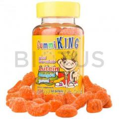 Лютеин Омега-3 для детей, Lutein Omega-3, Gummi Kingl, 60 жевательных конфет