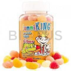 Пищевые волокна (жевательные), Fiber, Gummi King,
