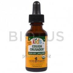 Средство от кашля для детей, без спирта (Cough Crusader), Herb Pharm, 30 мл