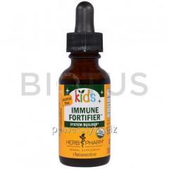 Укрепление иммунитета у детей, без спирта (Immune