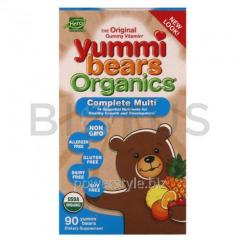 Витамины для детей, Multi-Vitamin, Hero