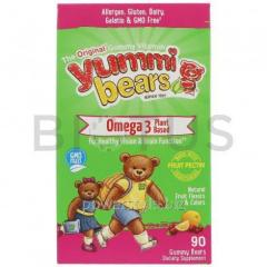 Омега-3 для детей с семенами чиа (без рыбы), Yummi