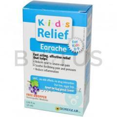 От детской ушной боли, Kids Relief, Earache for