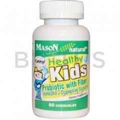 Пробиотик волокна для детей, Healthy Kids