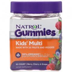 Мультивитамины для детей, Kids' Multi, Natrol, 90 шт.