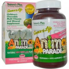 Витамины для детей, Multi-Vitamin and Mineral,