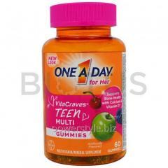 Мультивитамины для девочек-подростков, Teen Multi,
