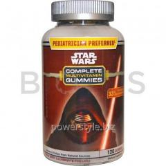 Мультивитамины, Complete Multivitamin Gummies, Mixed Berry, Star Wars, 120 жв.