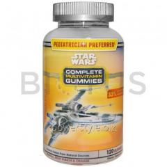 Мультивитамины, Complete Multivitamin Gummies, Star Wars, 120 жв.