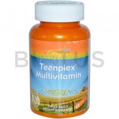 Мультивитамины для подростков, Teenplex Multivitamin, Thompson, 60 таб.