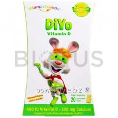 Витамин Д, DiYo Vitamin D, Vitamin Friends, 20