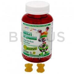 Мультивитамины с виноградным пектином, Multi