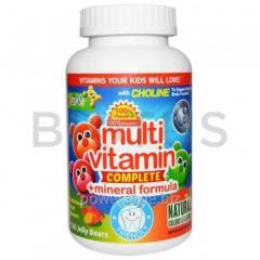 Мультивитамины + минералы для детей, Multi Vitamin
