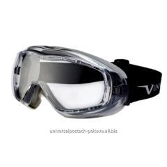 Закрытые защитные очки 620U.02.10.00, непрям.