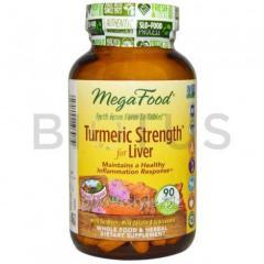 Куркумин для печени, Turmeric Strength, MegaFood,