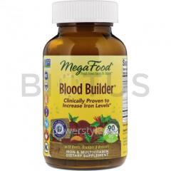 Очищение крови, Blood Builder, MegaFood, с железом